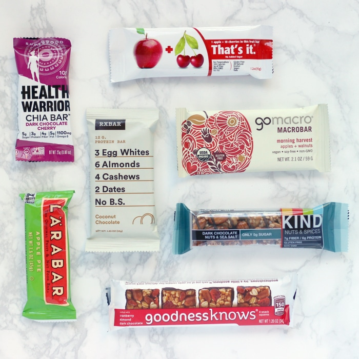 Healthy Snack Bars 2016
