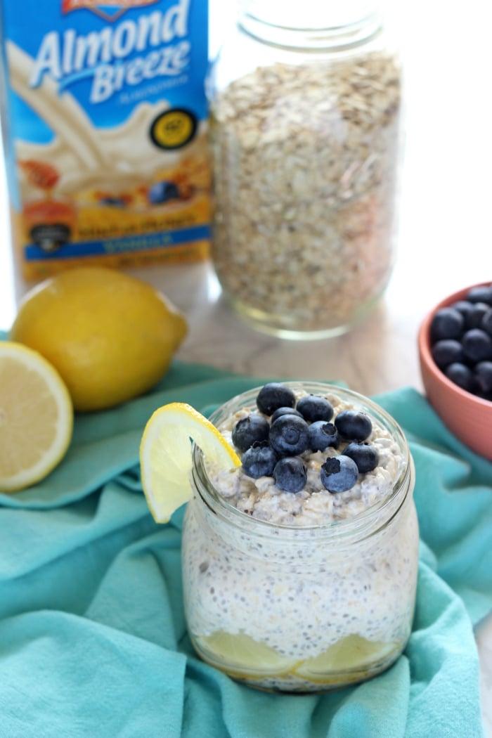 Blueberry Lemon Oats