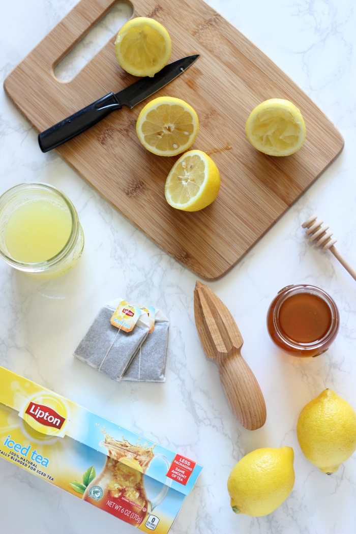 Healthy Iced Tea Lemonade
