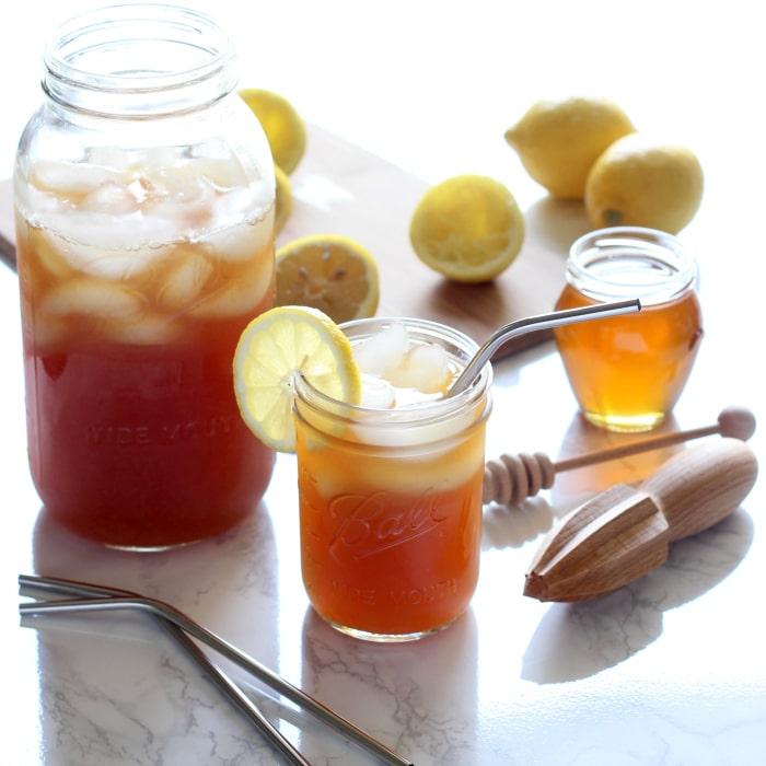 Healthy Lemon Iced Tea