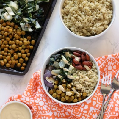 Curried Chickpea Buddha Bowl