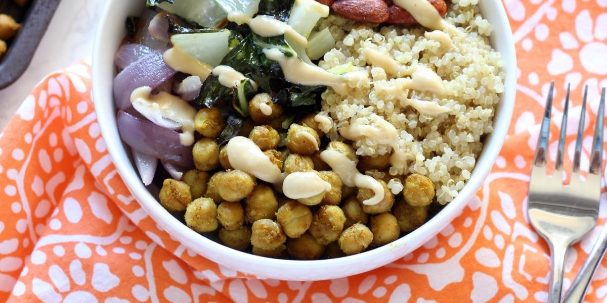 Curry Buddha Bowl FB