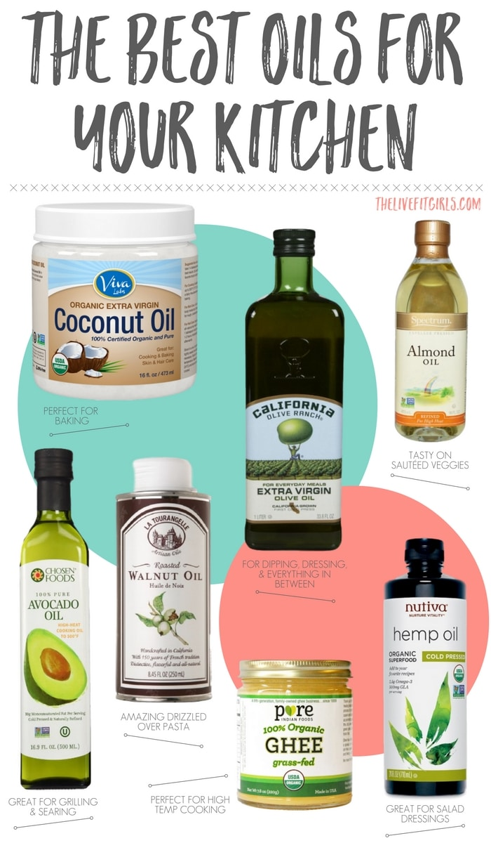 The Best Oils for your Kitchen