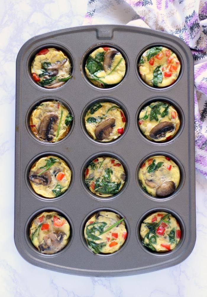 Veggie Egg Muffins 4