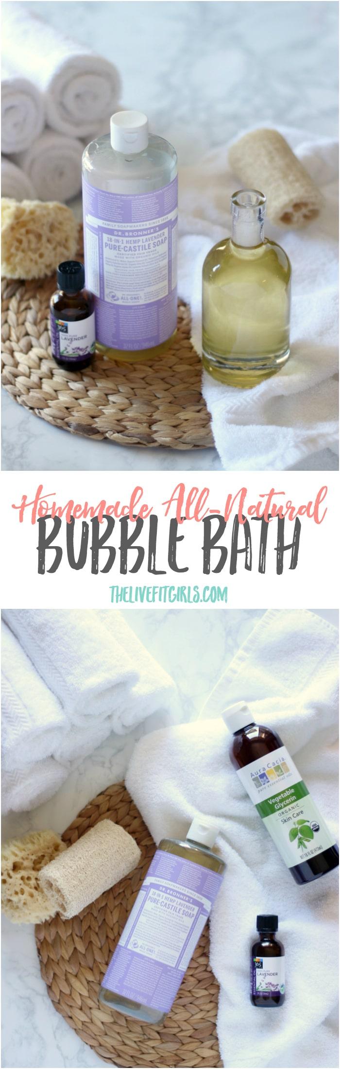 DIY Bubble Bath Pin