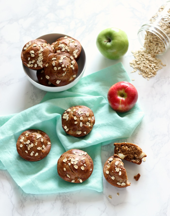 healthy-apple-muffins