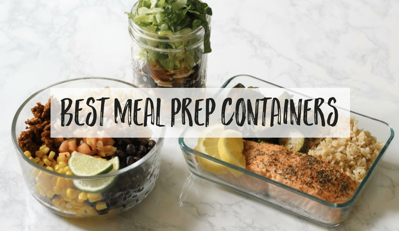 Looking for healthy nontoxic meal prep containers? These are the BEST options for everything you'll be cooking up each week!
