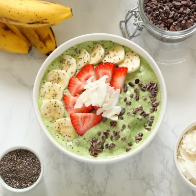 Mint Chocolate Chip MILKSHAKE Bowl