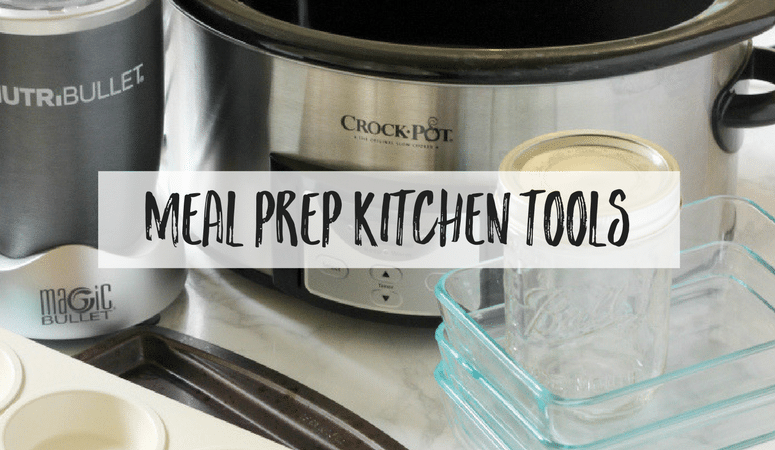 Find out what kitchen equipment is essential for making your weekly meal prep easy and hassle free. Trust me, these tools will make your whole life easier!