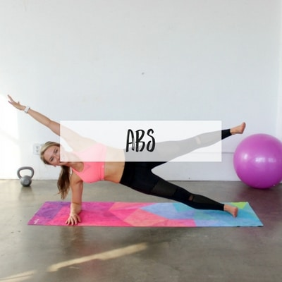 The BEST ab workouts for women. These quick home ab routines will slim your waistline and work your core for flat abs.