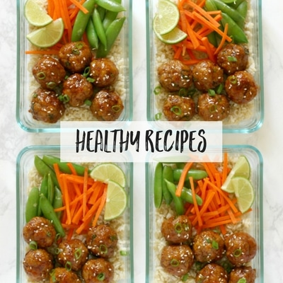 Easy and fast healthy recipes to help you lose weight!