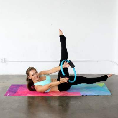 Pilates Ring Ab Workout