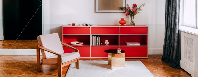 adding colour with furniture
