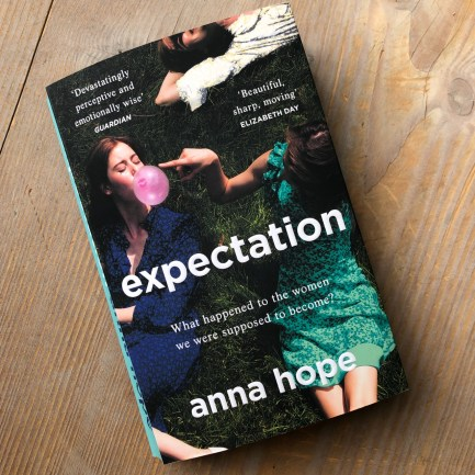 Expectation by Anna Hope cover, essential reads