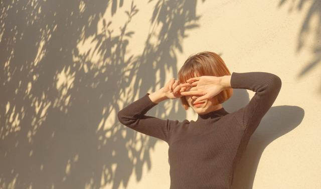 eyes can be sensitive after exposure to the sun