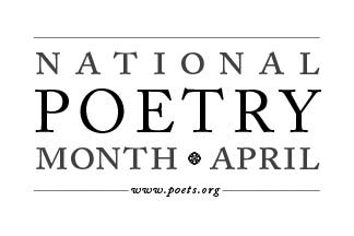 Bookmark Dragon: Happy National Poetry Month!