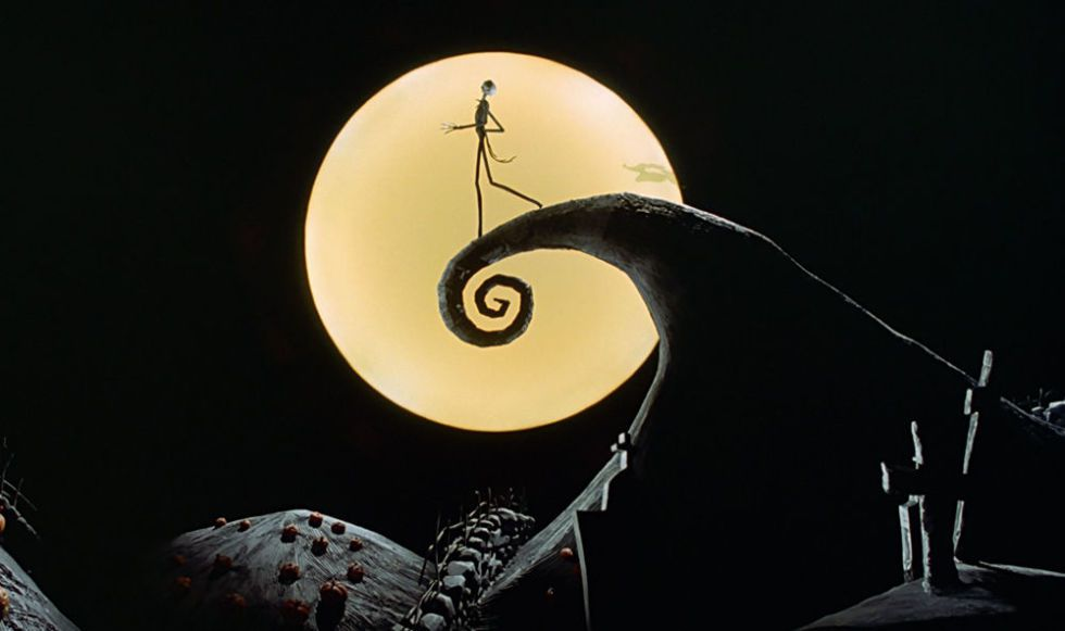 Tim Burton Nightmare Before Christmas Artwork.The Nightmare Before Christmas Live In Concert Feat Danny
