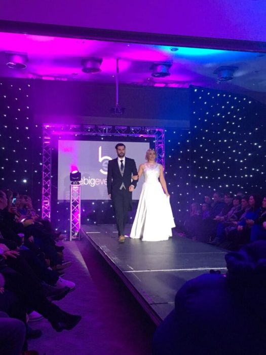 Catwalk show from Bridal Reloved Liverpool