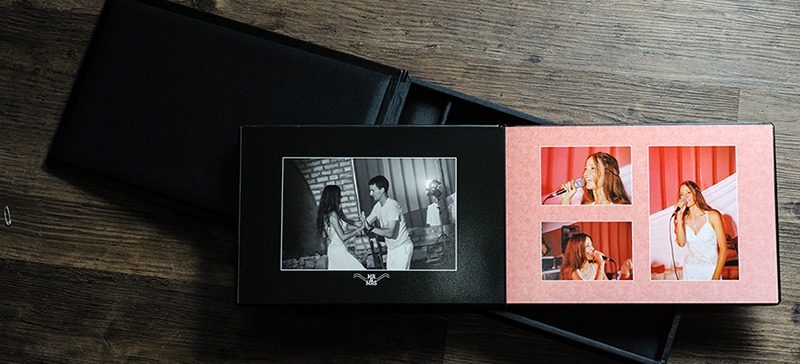 Example of a wedding album