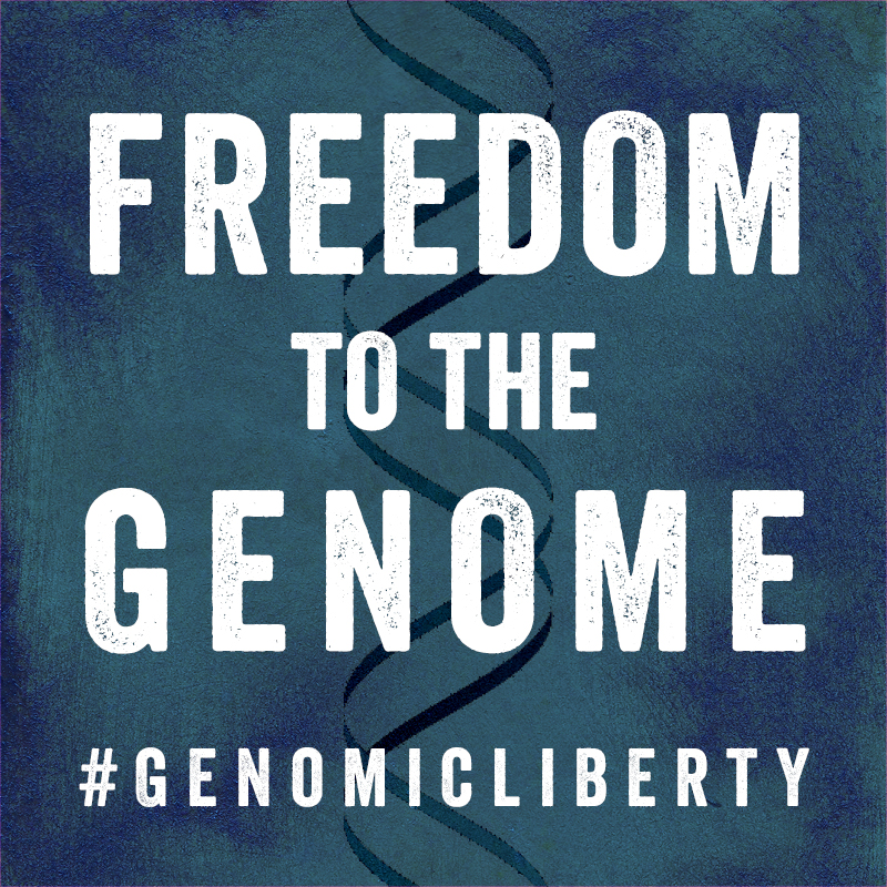 Freedom to the Genome