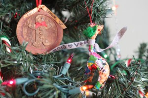Ornaments for the boys from Vanessa (& Billy) in years past.