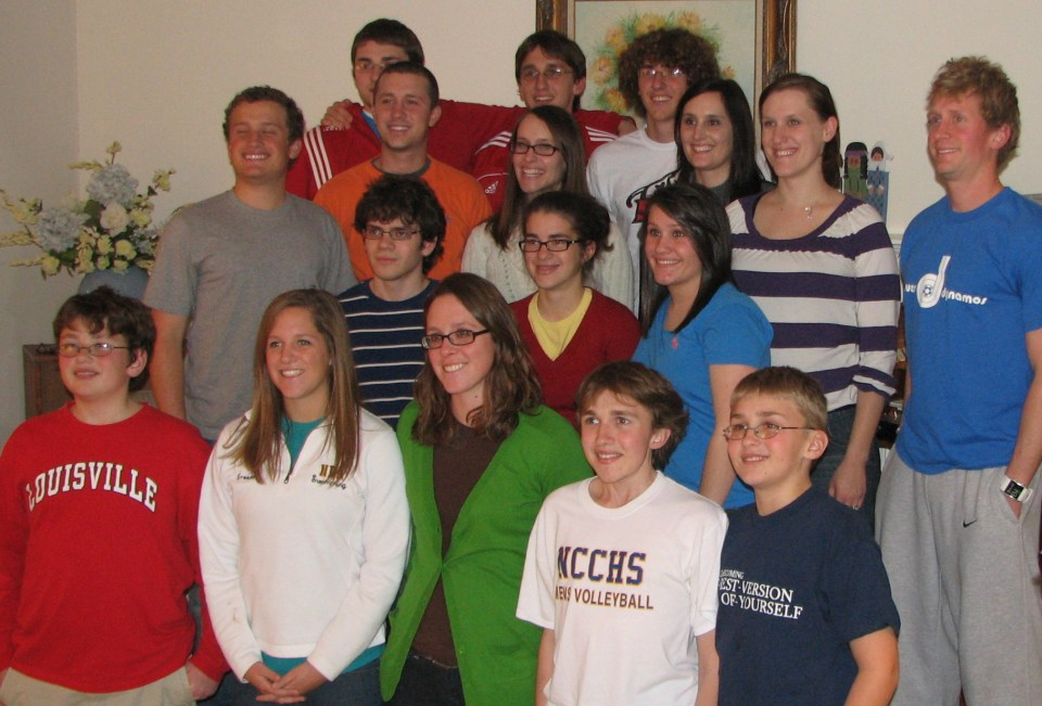 Grandma's grandchildren in 2009