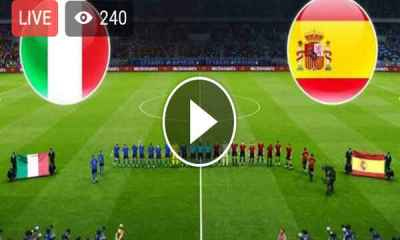 Watch Italy vs Spain Live Streaming Match #ITAESP
