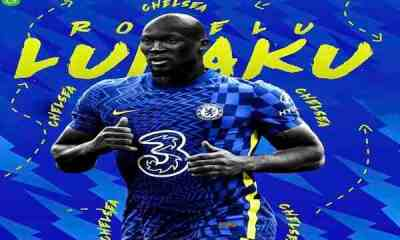 Done Deal: Lukaku Finally complete Chelsea's Switch. Check out His Speech .