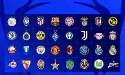 UEFA champions league Table, Scorers' Chat and Fixtures. Check out Your Favorites Team Standing in the Group Stages.