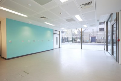 Ground floor training/activity hall