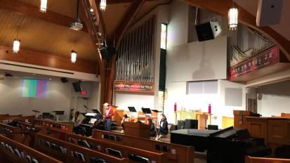 Audio System Installation @ Presbyterian Church of Metro Detroit