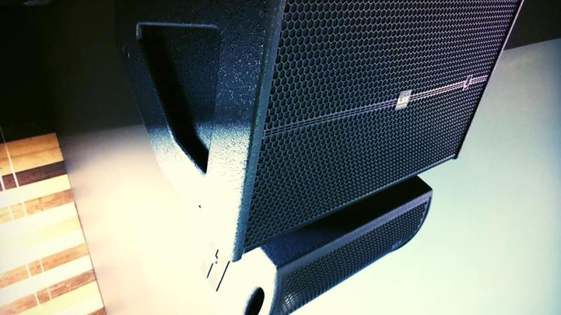 Main Speaker Installation @ RCC – Fort Worth, TX