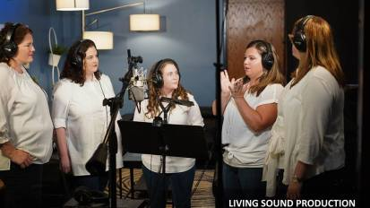 [VIDEO] A capella M/V Production @ Living Sound Studio