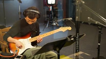 Electric Guitar Tracking @ Living Sound Studio