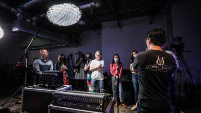 [Academy] Church Media Academy in Living Sound Studio