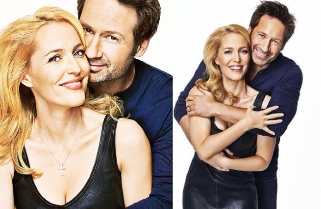 gillian-anderson-y-david-duchovny-en-entertainment-weekly-magazine