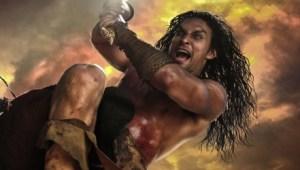 Jason Momoa,Arnold Schwarzenegger,Conan the Barbarian,Game of Thrones, Khal Drogo,beefcake, fantasy