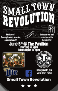 Small Town Revolution @ The Pavilion