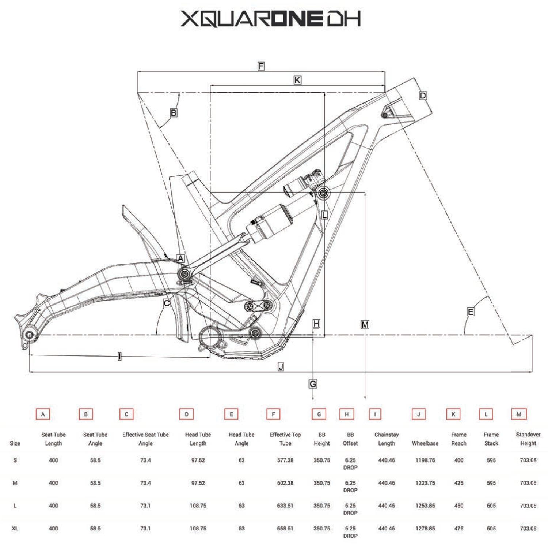 Polygon Xquare One DH a revolutionary new downhill bike