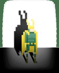Pixel-Superheroes-by-Ercan-Akkaya-Loki