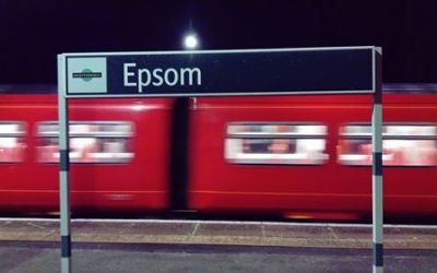 How long does it take to commute from Epsom to London?