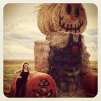 Lisa: a corn maze in WY