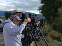 A photo of photographers @ Tetons