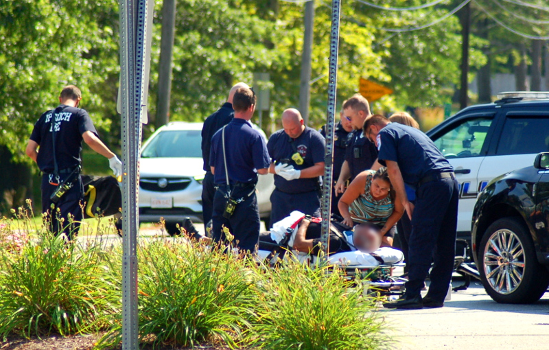 Cyclist injured in car accident | thelocalne ws