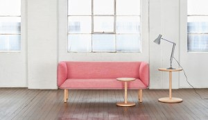 Wes Table - Australian Pink Lounge Lamp - Tom Fereday - Design Archive
