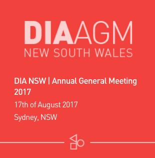 DIA Annual Meeting - NSW