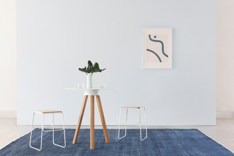 House Home Product Design – Skirt Table And Shuttle Stool Designed By Nomi 1