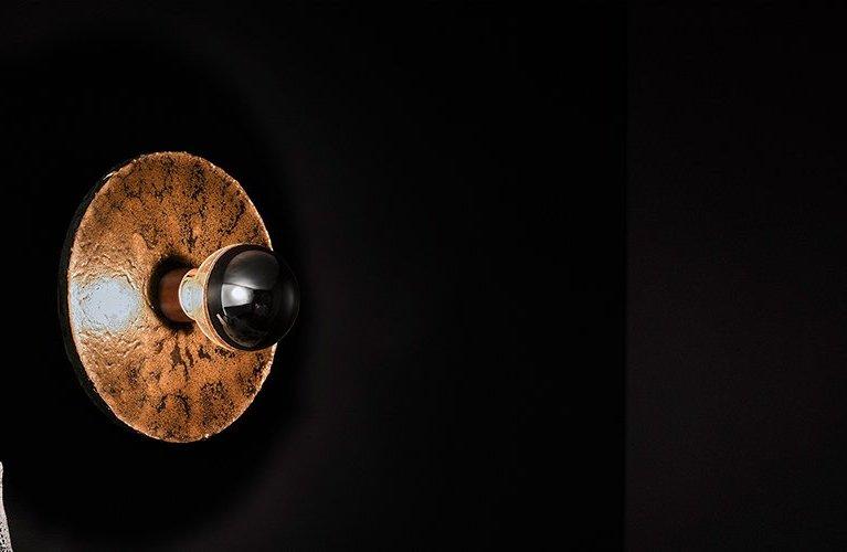 Igneous Wall Light by Ash Allen