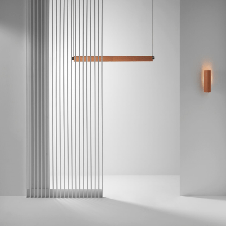 Linear residential and commercial wall lighting by Luke Mills of LUMIL