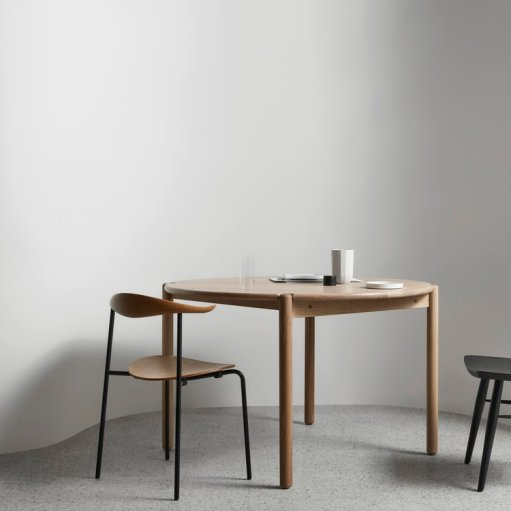 Round Timber Dining Table by MBM - Local Australian Furniture Design